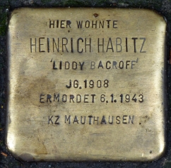 Stolperstein Liddy Bacroff