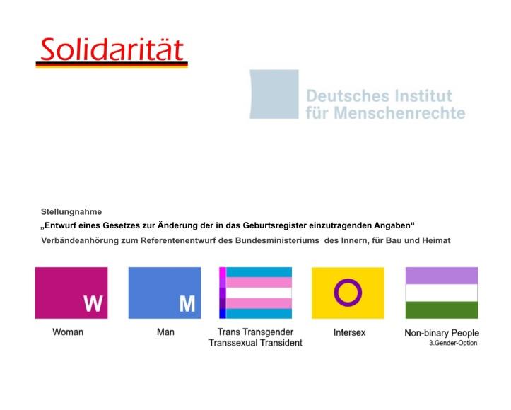 Deutsches Institut für Menschenrechte DIMR Stellungnahmen zu BMI Referententwurf v1.02