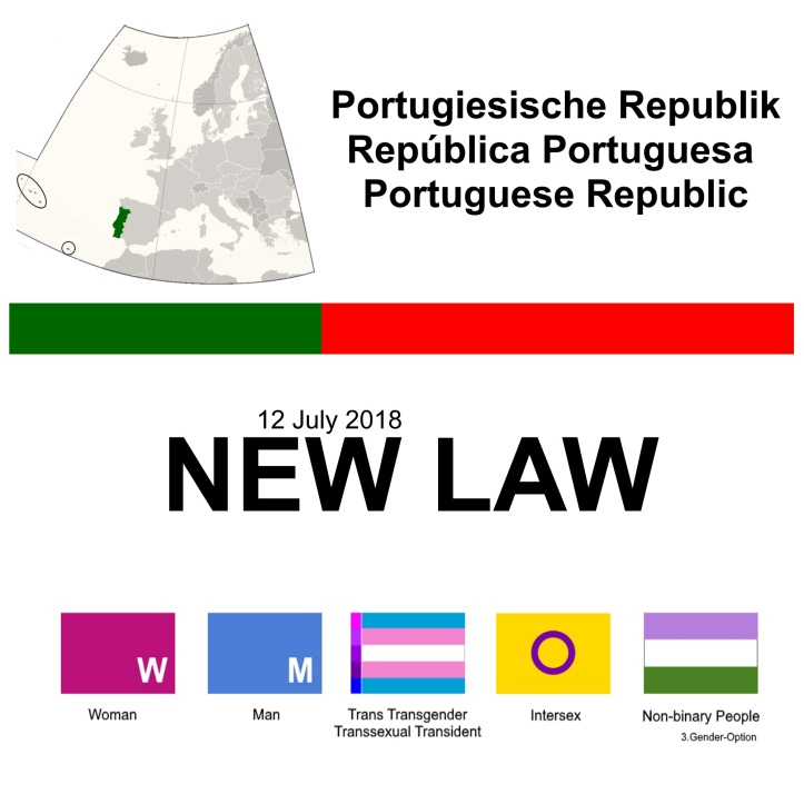 Portugal new law transgender intersex 12 July 2018 v3.07
