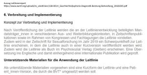Auszug Leitlinienreport Leitlinienreport_S3Leitlinie_Geschlechtsinkongruenz-Ge v1.02