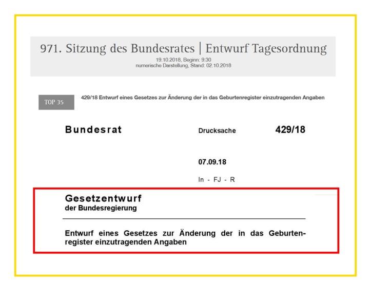 Bundesrat 429-18 Gesetzentwurf der Bundesregierung v1