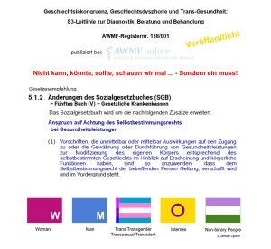 S3 Richtlinie veröffentlicht SGB Klarstellung notwendig v1.03