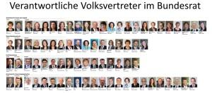 Verantwortliche Volksvertreter im Bundesrat 226-18 225-18 gegen 429-18 v1.08cut