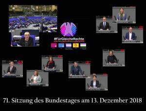 Bundestag 12Dez2018 Abstimmung Kein Schutz MedizinischeVersorgung Selbstbestimmung v6.02vk